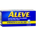Aleve All Day Strong Pain Reliever, Fever Reducer, Caplet, 150 ea