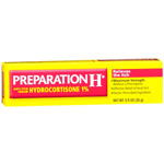 Preparation H Anti-Itch Cream with Hydrocortisone 1%, .9 oz