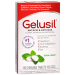 Gelusil Antacid, Anti-Gas Tablets, 100 ea