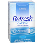 Refresh Classic, Lubricant Eye Drops, 50 ea