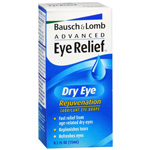 Advanced Eye Relief Lubricant Eye Drops, Dry Eye Rejuvenation, .5 fl oz