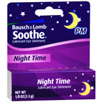 Soothe Lubricant Eye Ointment, Night Time, .12 oz