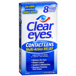Clear eyes CLR Contact Lens Relief Soothing Eye Drops, .5 fl oz