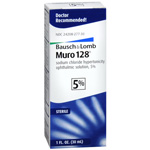 Muro 128 5% Sterile Ophthalmic Solution, 1 fl oz