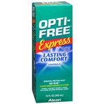 Opti-Free Express, Lasting Comfort No Rub, Multi-Purpose Disinfecting Solution, 10 fl oz