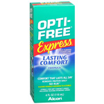 Opti-Free Express, Lasting Comfort No Rub, Multi-Purpose Disinfecting Solution, 4 fl oz