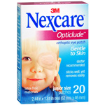 Nexcare Opticlude Orthoptic Eye Patch, Junior Size, 20 ea