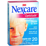 Nexcare Opticlude, Orthopic Eye Patch, 20 ea