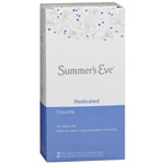 Summer's Eve Douche, Medicated, 2 ea
