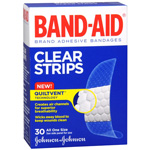 Band-Aid Clear Perfect Blend Clear Bandages, One Size, 30 ea