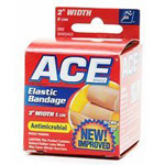 "ACE 2"" Elastic Bandage with Hook Closure"