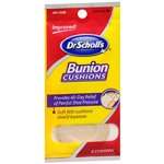 Dr. Scholl's Bunion Cushions with Comfortplus, 6 ea