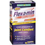Flex-A-Min Glucosamine Chondroitin MSM Coated Tablets, Maximum Strength, 60 ea