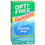 Opti-Free RepleniSH Rewetting Drops, .33 fl oz
