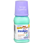 Imodium A-D Anti-Diarrheal, Mint Flavor, 4 fl oz