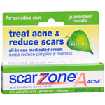 Sudden Change Scar Zone A, Acne Treatment + Acne Scar Diminishing Cream, .5 oz