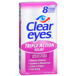 Clear eyes Triple Action Relief, .5 fl oz