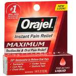 Orajel Maximum Strength, Liquid, .45 fl oz