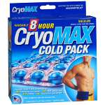 Cryo-Max Cold Pack with Flexible Straps, Reusable, Medium, 1 ea