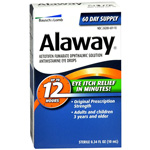 Bausch & Lomb Alaway Eye Itch Relief, .34 fl oz