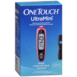 OneTouch UltraMini Glucose Monitoring System, Pink Glow, 1 ea