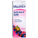 Mucinex Kids Cold, Mixed Berry, 4 fl oz