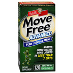 Schiff Move Free Advanced Plus 1500mg MSM Tablets, 120 ea