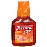 Tylenol Cough Warming Daytime Liquid - Honey Lemon, 8 fl oz