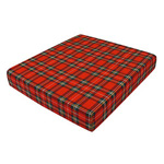 Duro-Med High Density Foam Wheelchair Cushion, Plaid