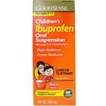 Good Sense Children's Ibuprofen Oral Suspension (Berry) 100mg 4oz, 4 oz