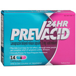 Prevacid24HR Acid Reducer, Delayed-Release Capsules, 14 ea