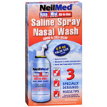 NeilMed Nasa Mist All in One Saline Spray, 6 fl oz