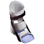 N'ICE Stretch Night Splint with Sealed Ice, Gray, Large, 1 ea