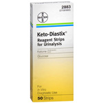 Keto-Diastix Reagent Strips - Box of 50