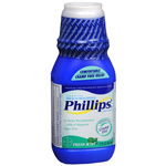 Phillips Milk of Magnesia - Sugar Free, Fresh Mint, 12 oz