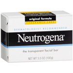 Neutrogena Fragrance Free Transparent Facial Bar 3.5 oz