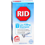 RID Lice Killing Shampoo - Maximum Strength, Step 1, 2 oz