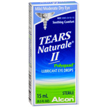 Tears Naturale II Polyquad Lubricant Eye Drops 15ml