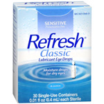 Allergan Refresh classic lubricant eye drops, opth sol - 30 ea