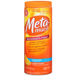 Metamucil Smooth Texture Sugar Free Orange, 72 Doses