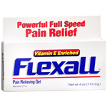 Flexall 454 Pain Relieve Gel - Maximum Strength, Vitamin E Enriched, 4 oz