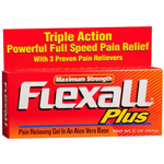 Flexall Pain Relieving Gel - Maximum Strength, 2 oz