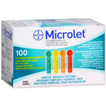 Microlet Colored Lancets 100ea.