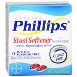 Phillips' Stool Softener Liquid Gels Liquid Gels 30ea.