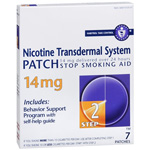 Nicotine Patch (Generic) 14mg 7/Box