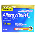 Good Sense Loratadine 24 hour allergy relief 10 mg tablets - 10 ea