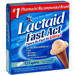 Lactaid Fast Act Caplets 12 ct