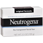 Neutrogena Original Formula Facial Cleansing Bar Hypoallergenic, 3.5oz