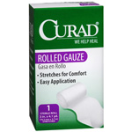 Curad Rolled Stretch Gauze 3 inch x 4.1 yards, 1 Roll