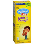 Hylands Cold N Cough 4 Kids, 4 oz